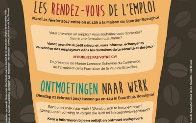 Publicatie Observatorium/publication Observatoire : Welkom op  « Ontmoetingen naar Werk » / Bienvenue aux « Rendez-vous de l'Emploi »