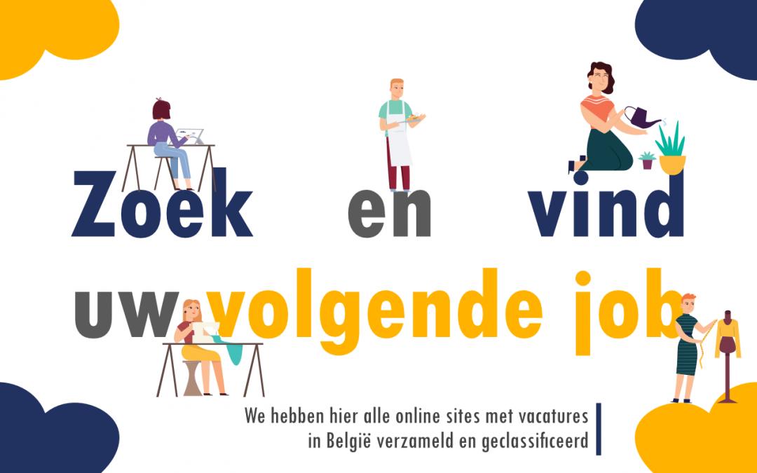 Lijst van jobsites voor een efficiënte zoektocht naar een baan